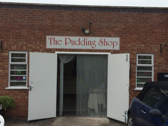 The Pudding Shop& Kitchen Cafe: Talented and friendly owners of 'The Pudding Shop .'