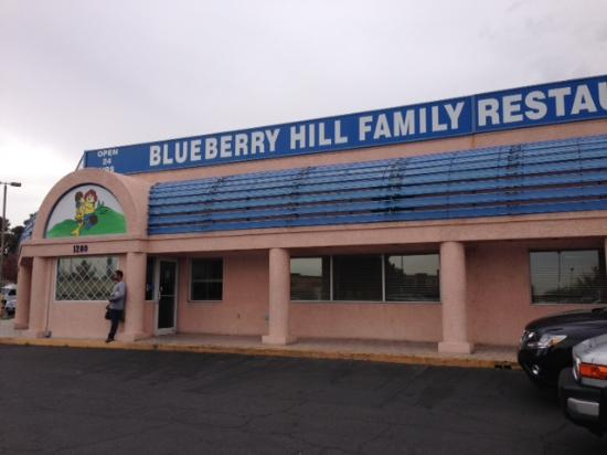 Blueberry Hill Family Restaurant Entrée Du