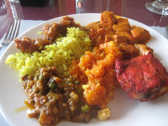 Sitar Indian Cuisine: My buffet selections