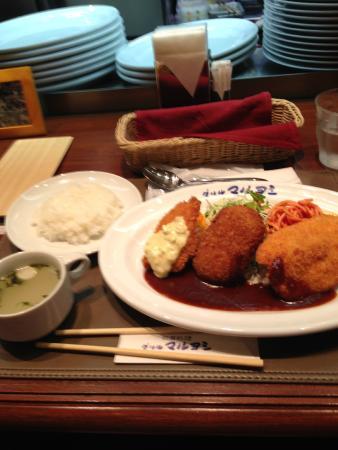 Gurirumaruyoshi : フライの定食