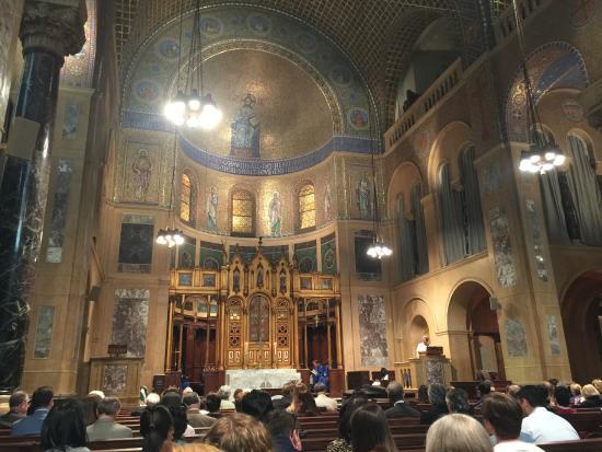 Christ Church: The sanctuary and service choir