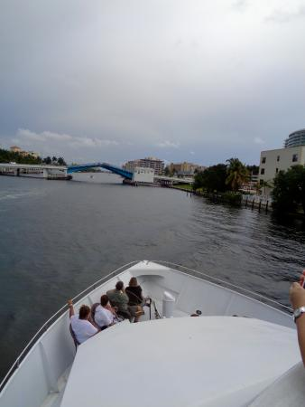 Serenity Yacht Cruises: From the upper deck