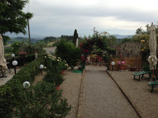 Il Colto: The view of the garden