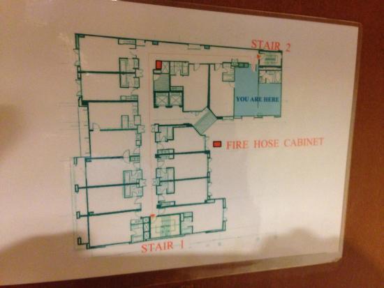 Floor Plan Picture Of Silom Serene Boutique Hotel Bangkok Tripadvisor