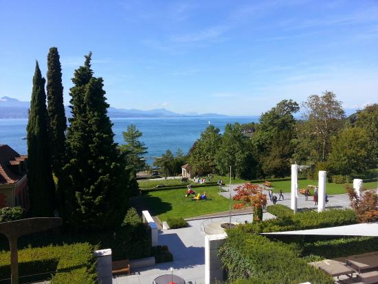 Jardins do museu picture of olympic museum lausanne for Jardins lausanne 2015