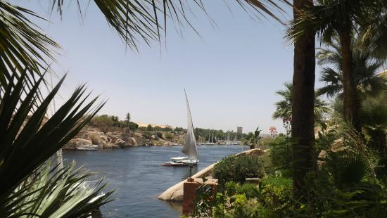 Sofitel Legend Old Cataract Aswan: View from the terrace at the Old Catatact Hotel, Aswan