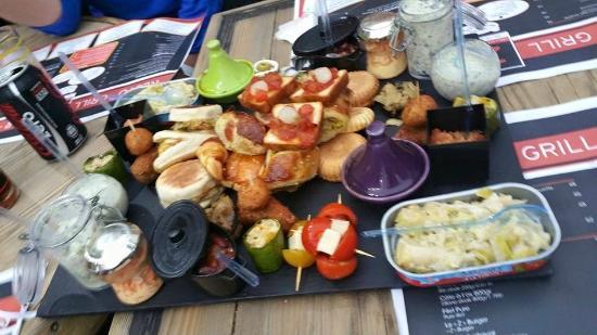 grand tapas ! - Bild von Bar Restaurant le Z, Agadir - TripAdvisor