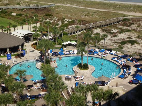 The Ritz-Carlton, Amelia Island: One of the pools
