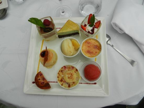 Auberge de l'Olive : Suplément des desserts