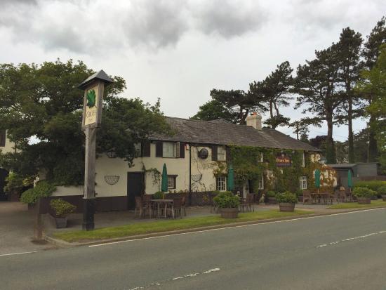 The Groes Inn: View of the inn