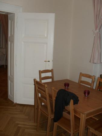 Charles Bridge Apartments: Dining area