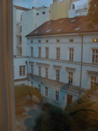 Charles Bridge Apartments: View from the window