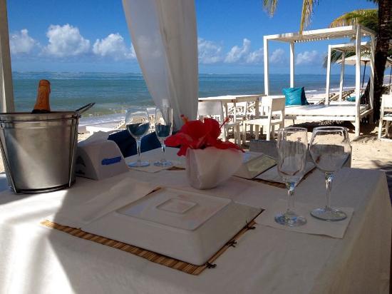 Cabana A Praia Branca: Atendimento nota 10...ótima comida e bons preços