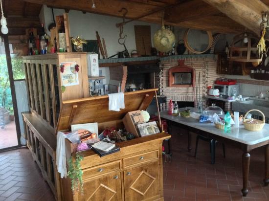 Casavacanze la Porta di Mignana: зона для барбекю