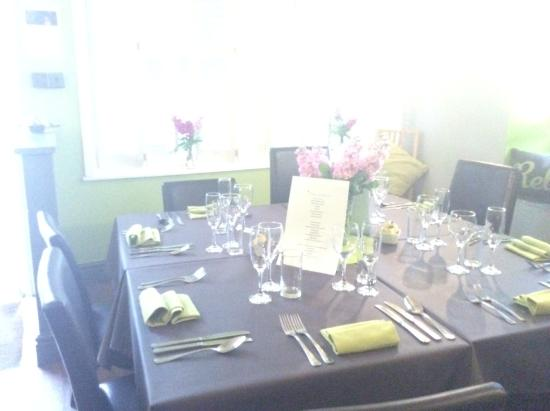 Godfrey's Cafe Bistro in Duffield: Bistro night at Godfreys - every Friday