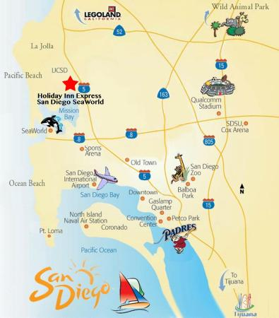 Our Mission Bay hotel is centrally located near several of San