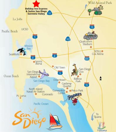 Holiday Inn Express San Diego-Sorrento Valley: Our Sorrento Valley hotel is centrally located near several of San Diego's famous attractions.