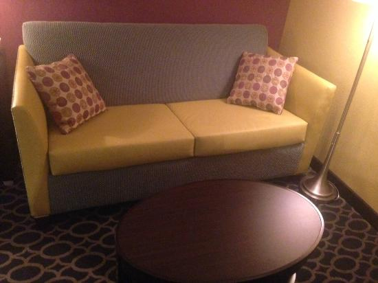 DoubleTree by Hilton Richmond-Midlothian: Sofa/Coffee table