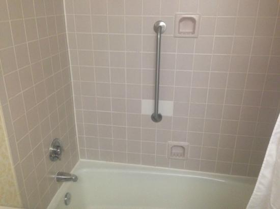 DoubleTree by Hilton Richmond-Midlothian: Shower (outdated)