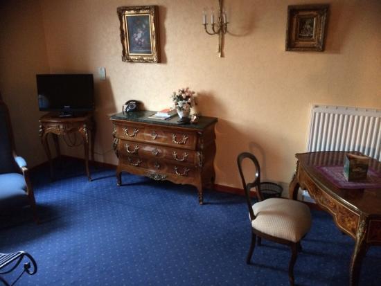 Parc Hotel Wangenbourg : Bureau chambre double prestige