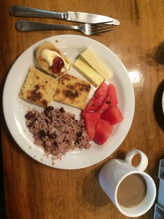 Ecolodge San Luis : Breakfast