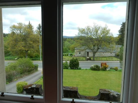 Ardconnel House B&B: View from our room - Glenlivet