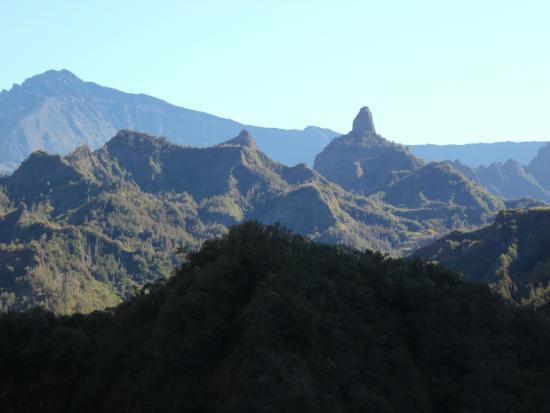 Road to Cilaos : cilaos