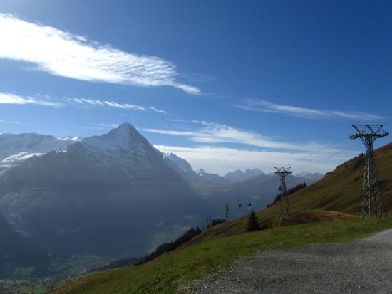 Grindelwald, İsviçre: First - on top
