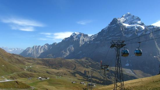 Grindelwald, Suiza: First - on top