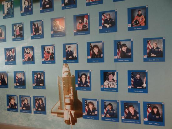 International Women's Air & Space Museum: Wall of Women is Space