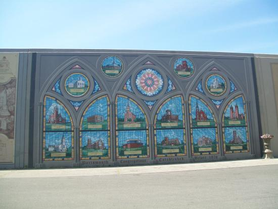 Great Portsmouth Floodwall Mural: Churches Of Portsmouth Part 31