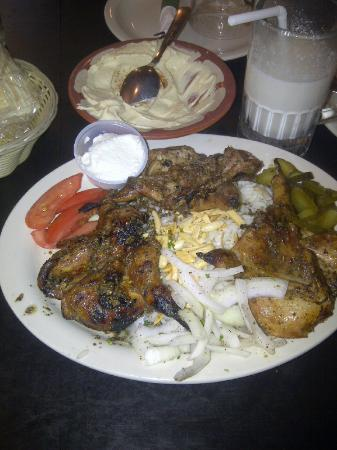 Beirut Restaurant: Quail entree