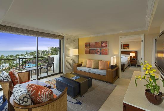 Hyatt Regency Maui Resort And Spa Deluxe Suite Ocean View