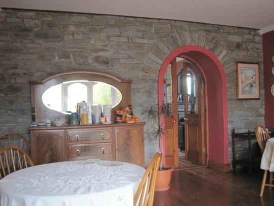 Tarbert, Irland: breakfast room