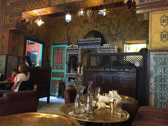 O restaurante picture of la mosquee de paris aux for Aux portes dela deco