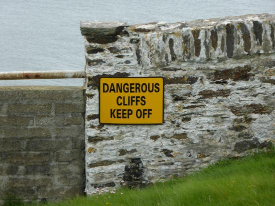 Galley Head Lightkeeper's House: A Word to the Wise