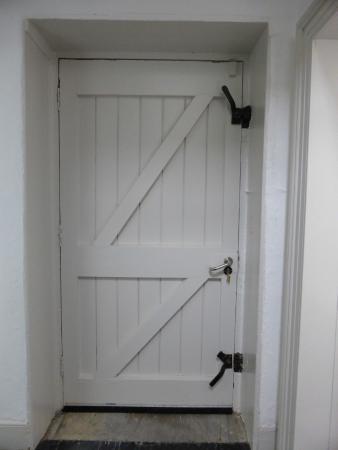 Galley Head Lightkeeper's House: The Front Door