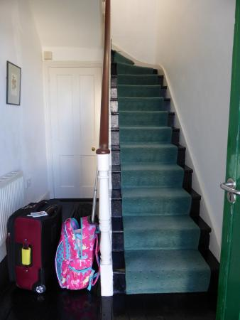 Galley Head Lightkeeper's House: Unit 2 Stairs