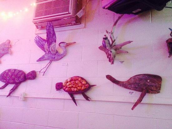 Deal Island, Мэриленд: Awesome local artwork