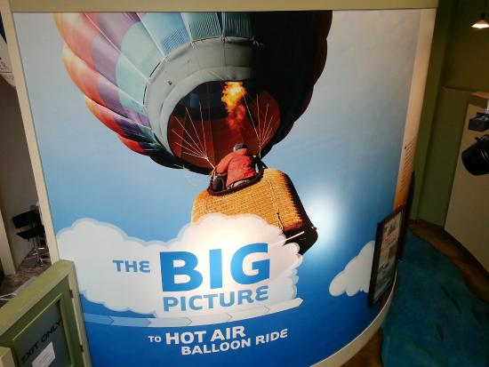 Boardman, OR: Hot air balloon simulator