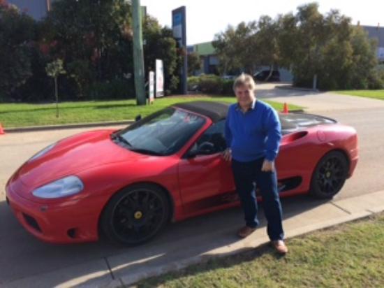 Dromana, Αυστραλία: Ferrari 360 Spyder