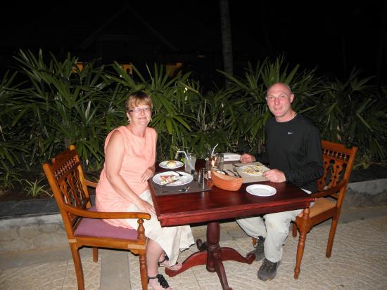 Poovar Island Resort: the last meal