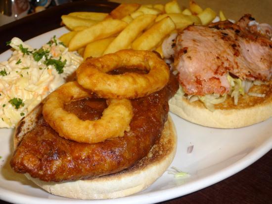Gershwins Coffee House: Cajun Chicken Burger