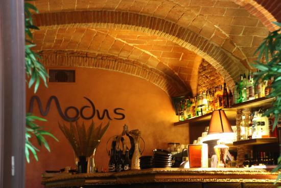 Ristorante Modus Bibendi: Nice bar....