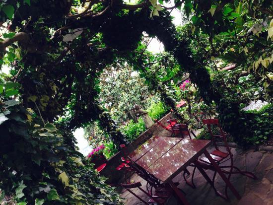 Villa Sermolli : Terrasse