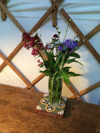 Offas Dyke Yurts: The little touches
