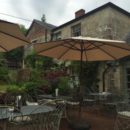 Beckford Arms: Nice late lunch
