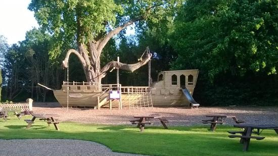 The Oaksmere: amazing boat structure/playground