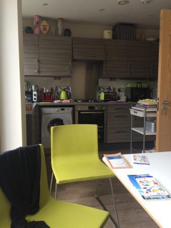 Rowan Park Lodge: La cucina è la stanza x la colazione