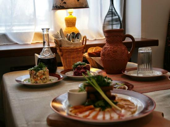 Restaurant Okraina: Зал ресторана